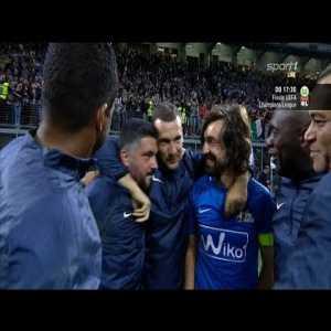 Pirlo, La Notte Del Maestro Match. All Goals