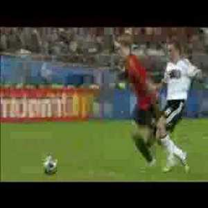 Torres winning goal against Germany to win Euro 2008