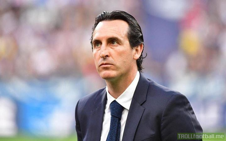 Unai Emery is now the favorite to be named next Arsenal manager.  He's never beaten Guardiola or Mourinho. He should fit right in.