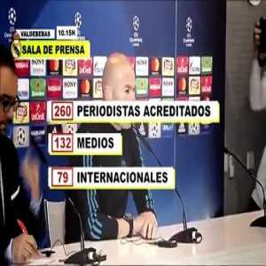 Cristiano Ronaldo hallucinates with the expectation of the press for the final of the Champions
