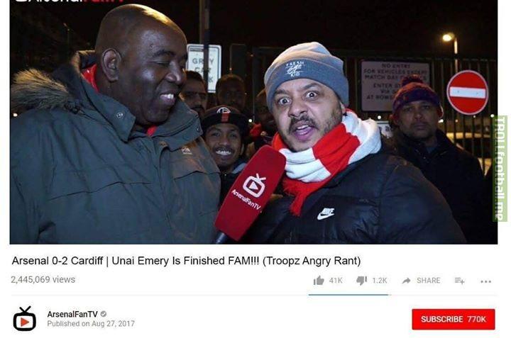 ArsenalFanTV next season 😂