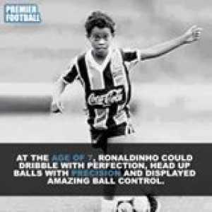 Ronaldinho's childhood story