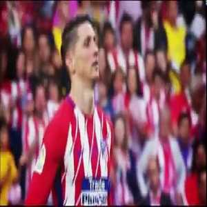 The emotion of Fernando Torres to say goodbye to Atlético