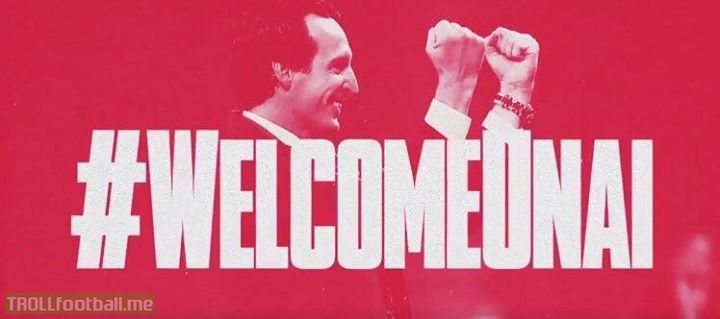 BREAKING: Arsenal have appointed Unai Emery as their new manager 🔴