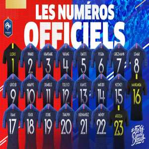 Kylian Mbappé will wear the number 10 at the World Cup