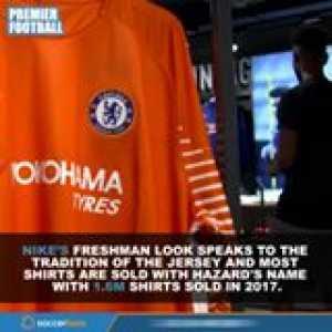 Most Popular Premier League Kits