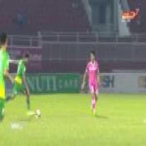 V-League player's Amazing Halfway Line Goal