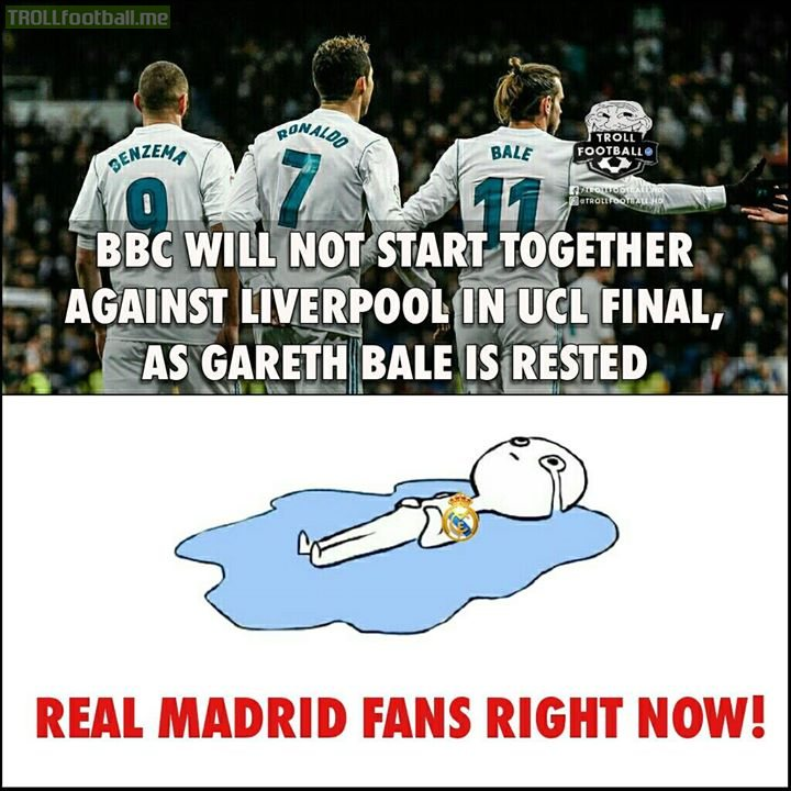 BBC Will Not Start Together Against UCL Final..