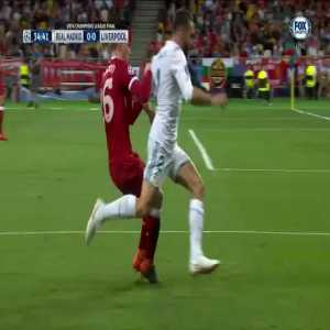 Carvajal injury vs Liverpool