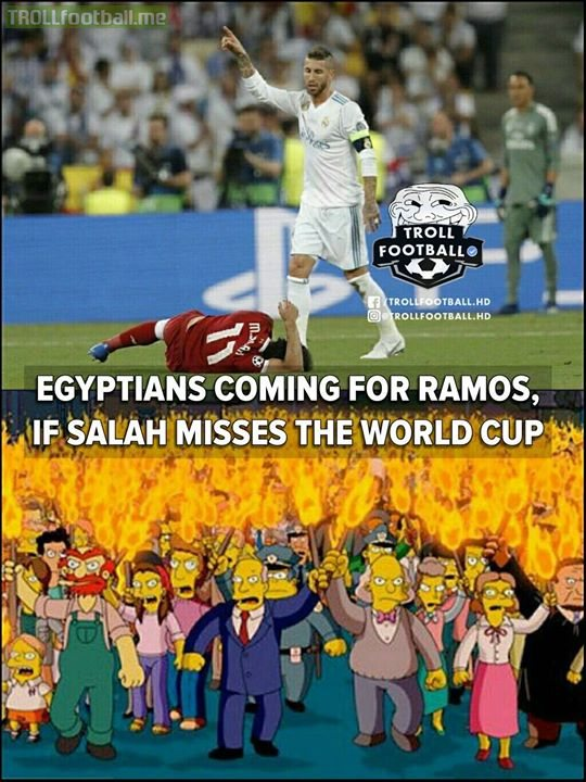 Egyptians Are Coming For Ramos..😡😠