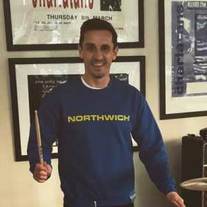 Gary Neville's version of Liverpool's new chant