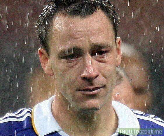 It's happened again... Sad John Terry has happened again.