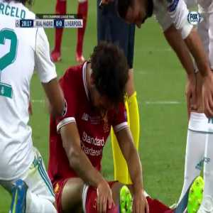 Mohamed Salah out for the game vs Real Madrid