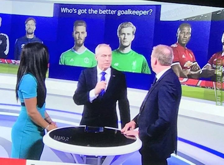 tb to when it was briefly debated whether Karius or De Gea was the better keeper.
