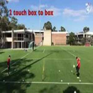 Try these drills ⚽️👌🏻⬇️  1. Half Volleys✅ 2. Instep Volleys✅ 3. Reverse Half Volleys✅ 4. chest and Volley✅ 5. Headers (short anda long)✅ 6. Under / under / over👌🏻✅ 7. Two touch / box to box✅ 8. More variations and full video on their YouTube channel ✅👍🏻