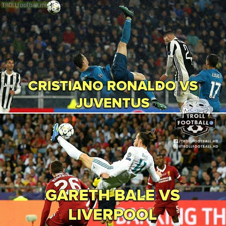 Who Did It Better..?  Cristiano Ronaldo Or Gareth Bale?