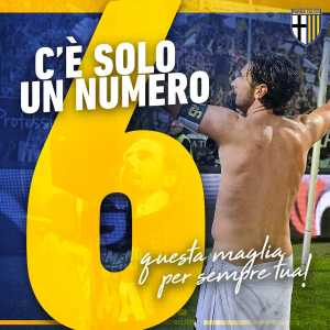41 years old Parma legend Alessandro Lucarelli retires from football. He stayed with the club even in Serie D and helped the team climb back to Serie A. The club will retire his number