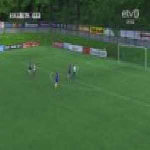 A comical own goal in the Estonian Premium Liiga