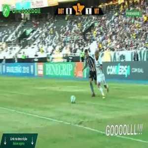 Botafogo 1 vs 1 Vitória - Highlights & Goals - Brasileiro 2018