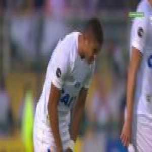 Bruno Silva (Cruzeiro) goal vs. Santos (0-1) [Brasileirão Série A]