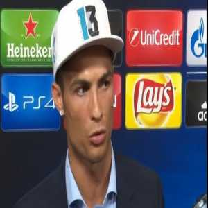 """Cristiano Ronaldo """"Maybe I was wrong. It was not the right time to talk """""""