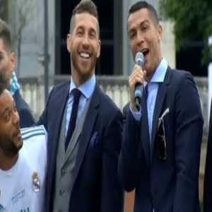 """Cristiano: """"Thanks to all of you, see you next year""""."""