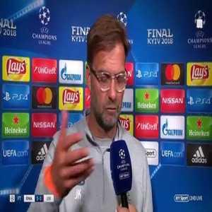 Jurgen Klopp talks Loris Karius' mistakes & Mo Salah's World Cup hopes after UCL final defeat