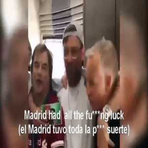 Klopp, with the fans of Liverpool Real Madrid had all the fucking luck!