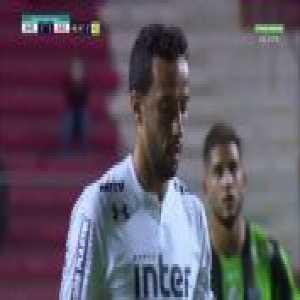 Nene (São Paulo) goal vs. América Mineiro (1-[2]) [Brasileirão Série A]