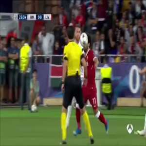 Robin Black on Twitter: One Minute #BREAKDOWN: Sergio Ramos vs Mohammad Salah.