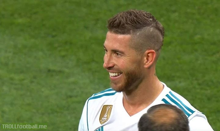 Sergio Ramos Was Laughing As Mohamed Salah Left The Pitch, Crying.