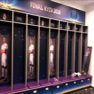 That's how the Real Madrid dressing room looked after the players' party