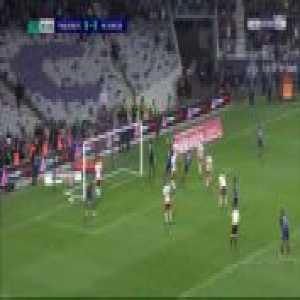 Toulouse 1-0 AC Ajaccio [4-0 on agg.] - Jimmy Durmaz