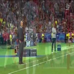 Zidane's reaction to Bale's goal