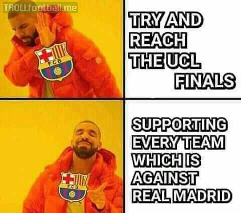 FC Barcelona for you 😂😂😂