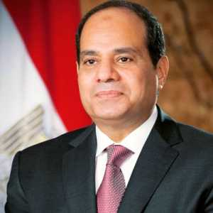 The president of Egypt is tweeting on update on salah's injury.