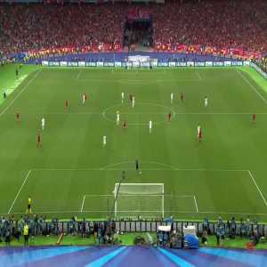 Tactical cam video of Gareth Bale's spectacular Champions League final chilena.