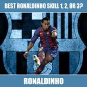 Ronaldinho skill 1, 2 or 3?