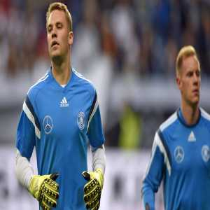 "Oliver Bierhoff: ""Neuer will be the Number 1 in the Worldcup and start the matches while Ter Stegen will be Number 2."""