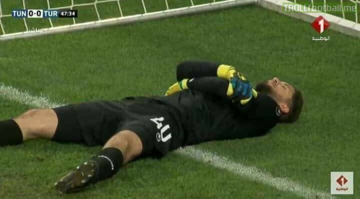 *Off Topic* Fun fact:  Tunisian National team has played the last two friendlies while fasting. So, whenever the time comes to break Fast. The players have an agreement that the GK would go down so they can get a moment to drink some water and get something to eat 😂😂 Ramadan MJJ