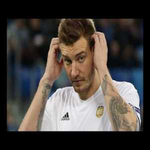 Bendtner Is Left Out of Denmark World Cup Squad