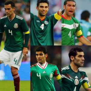 Rafa Márquez will equal Antonio Carbajal, Lothar Matthäus and Gianluigi Buffon's record of being a part of 5 World Cups (Korea-Japan '02, Germany '06, South Africa '10, Brazil '14, Russia '18)