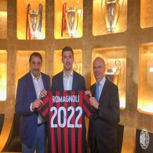 Romagnoli renews Milan contract till 2022