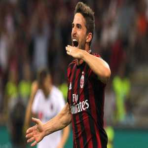 Fabio Borini will complete a permanent transfer to AC Milan on 1 July 2018