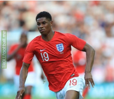 """Rashford: """"Ronaldo vs Messi? I have to say Messi - some of the stuff that he does is unbelievable. I'm a big fan of Ronaldo as well but I think Messi is the greatest ever."""" mufc"""