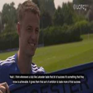 New Foxes signing Jonny Evans is excited by the club's ambition...  (📹 Leicester City Football Club)