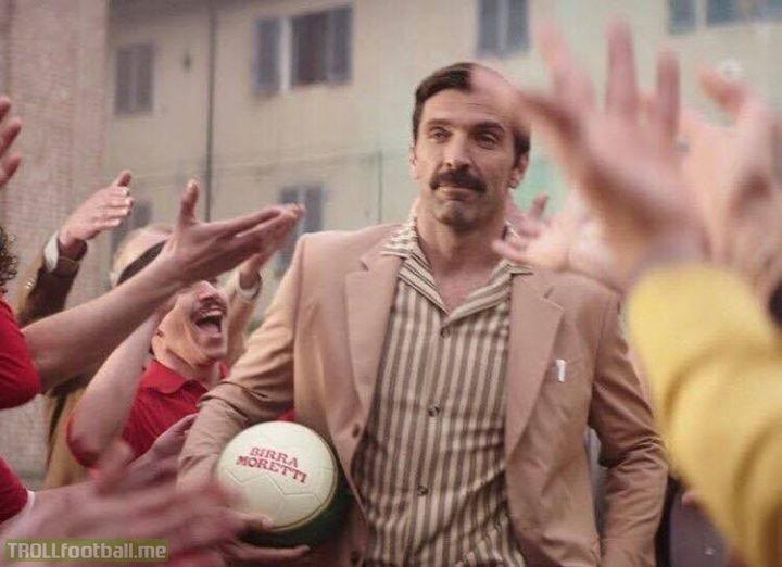 It's-a-me, Gianluigi Buffon. 🇮🇹👌