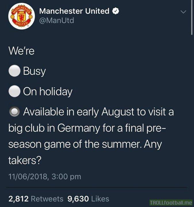 Man United destroy Bayern Munich on Twitter 😂  Swipe right