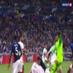 Olivier Giroud and Matt Miazga's Bloody Head Collision