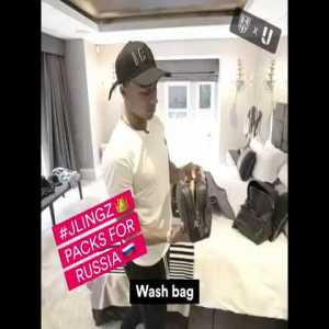 Wanna know what Jesse Lingard is packing for Russia 👀